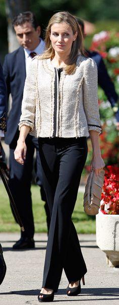 Queen Letizia of Spain July 9, 2014