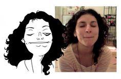 Caricaturas feitas com fotos do Facebook | Criatives | Blog Design, Inspirações, Tutoriais, Web Design