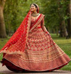 #lehenga #saree #lehengacholi #fashion #indianwedding #indianwear #ethnicwear #wedding #indianfashion #indianbride #bridallehenga #onlineshopping #kurti #lehengalove #bridalwear #weddingdress #designerlehenga #designer #lehengas #bridal #weddinglehenga Sabyasachi Lehenga Bridal, Bollywood Lehenga, Indian Bridal Lehenga, Indian Bridal Outfits, Indian Dresses, Bridal Dresses, Heavy Lehenga, Walima Dress, Sleeves Designs For Dresses