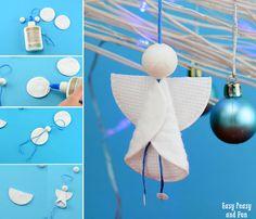 Cotton Rounds Angel Craft