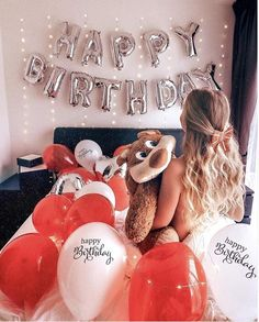 today I am the birthday girl.I don't need gifts, flowers, attention, just want my wish come true on my day . Cute Birthday Pictures, Happy Birthday Photos, Birthday Goals, Happy Birthday Girls, 21st Birthday, Birthday Cakes, Happy Birthday Balloon Banner, Birthday Balloon Decorations, Kids Party Decorations