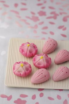 Wagashi, Japan  wataaaa i have been searching for this or so long D: since 8 years old im already 23 O.o wew