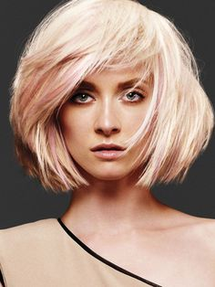 Bob Haircuts with Bangs - Bob haircuts with bangs seem to never go out of style. Women will always love wearing them as they are amazingly versatile, yet easy to create and maintain.