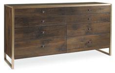Amedea 8-Drawer Dresser, Russet - Dressers - Bedroom - Furniture | One Kings Lane