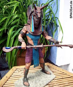 Stargate: Ra, Anubis und Horus - Deluxe Modelle, Modell-Bausatz, http://spaceart.de/produkte/sg008.php