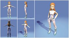 3D / Charaktermodeling - Goal aus Deponia