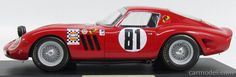 MG-MODEL MGGTO118015 Skala: 1/18  FERRARI 250 GTO COUPE ch.4153GT (night version) N 81 RALLY GERONA 1967 J.M.PALOMO - DELGADO RED