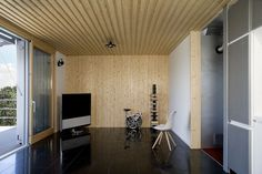 Spaceship Home (NOEM Concept) - Picture gallery #architecture #interiordesign #wood