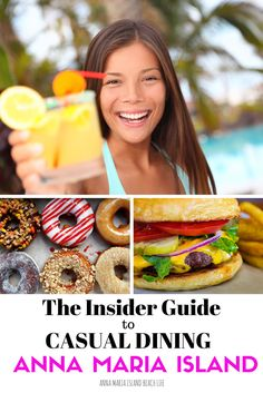 The Insider's Guide to casual dining on Anna Maria Island. Read our reviews on the best restaurants in the area. We only post our favourite places!