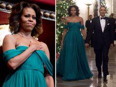 Michelle Obama - Marchesa