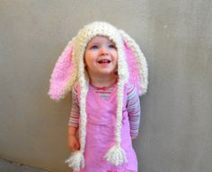 Easter Hats Bunny Hat Photo Props Cute Easter Clothes by YumbabY, $21.95