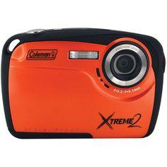 Coleman 16.0 Megapixel Xtreme2 Hd Waterproof Digital Camera (orange)