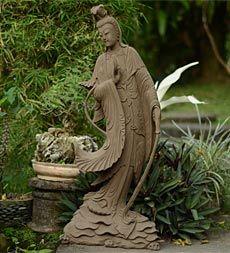 Good Quan Yin Garden Statue