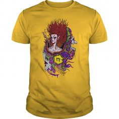 Cool Virgo Sign Multicolor Style 2 TShirts T shirts