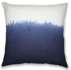 45x45cm Dip Dye cushion Indigo