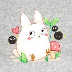 Check out this awesome 'White+small+totoro' design on Totoro Drawing, Manga Anime, Anime Art, Cowboy Bebop Anime, Hayao Miyazaki, Studio Ghibli Spirited Away, Studio Ghibli Art, Ghibli Movies, Sad Art