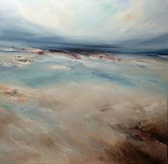 Michael Claxton contemporary art 76x76cm original painting on canvas