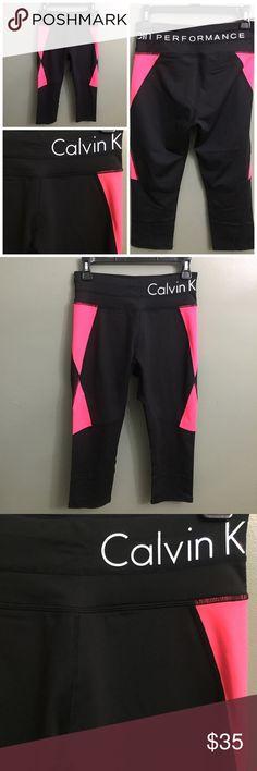 NWT Calvin Klein Performance Active Capri, M NWT Calvin Klein Performance Active Capri, M; high waist slimming compression. Calvin Klein Pants Capris