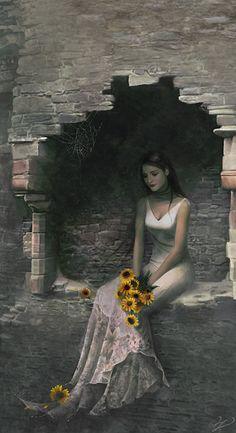 Light of Sunflowers by *enayla on deviantART