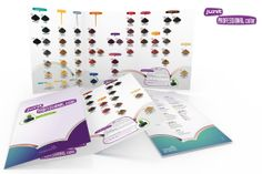"(Cliente: Famasar Srl) Restyling, Junit Professional Color ""Paper chart"": depliant 3 ante (chiuso 210 x 300 mm)"