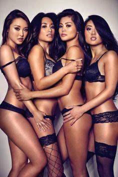 "import-models: "" The Affair | Donna B + Maya T + Anne Marie + Pinky Tang Credit: Alex Barredo """