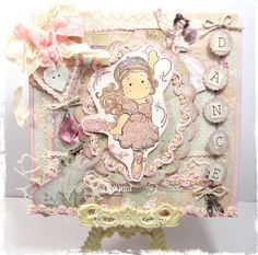 Fairy Belle Ballerina Tilda Card