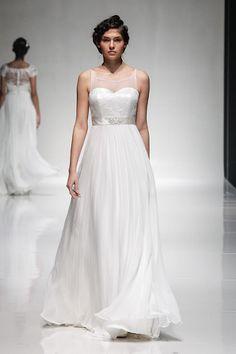 Wedding Magazine - Madeline Isaac-James 2015 wedding dresses The stunning 'Zivena' on the catwalk :)