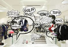 Moschino Window via www.moschino.it