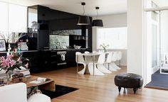 kitchen; black