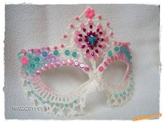 Tina's handicraft : 4 designs Carnival mask