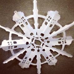 TARDIS Snowflake!