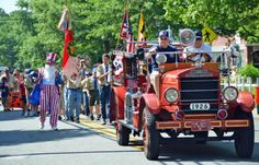 St. Michaels 4th of July Parade In Pictures