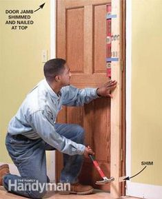 Learn how to hang any type of interior door. We'll show you foolproof tips and techniques to help you do a great job even if you're a beginning carpenter.