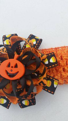 Check out this item in my Etsy shop https://www.etsy.com/listing/248293546/happy-halloween-candy-corn-pumpkin
