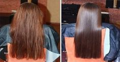 Use apple cider vinegar w/ warm water, 1:3 ratio..spray on after conditioning and rinse.  For frizzy hair.