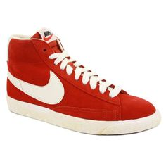 Nike Blazer Mid Suede Vintage Womens Laced Suede Trainers: Amazon.co.uk: