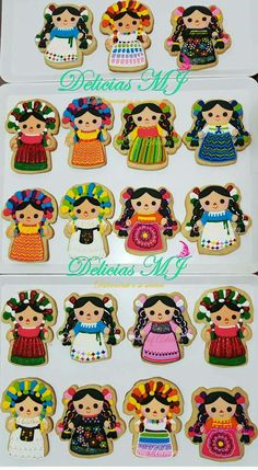 Michelle Martinez-Stark's media content and analytics Fancy Cookies, Iced Cookies, Royal Icing Cookies, Mexican Birthday Parties, Mexican Fiesta Party, Mexican Cookies, Quinceanera Party, Cookie Designs, Cookie Decorating