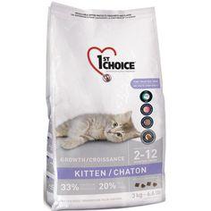 Karma dla kotów 1st Choice Growth Chicken Formula, Kitten, 350g