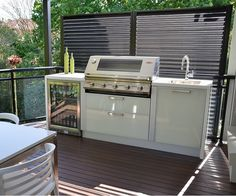Outdoor Kitchens, Custom Designed and Built In Kitchen Cabinets, Australian Alfresco Outdoor Kitchen Designs, Ideas and Settings, Beefeater BBQ, Showrooms - Sydney, NSW, Australia