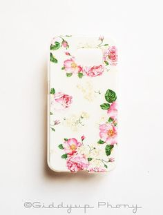 samsung s6 flower case
