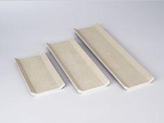 Amaris Elements grey stingray leather tray home decorative objects