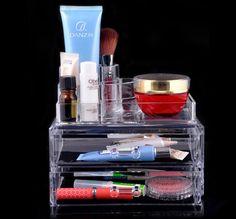 Акриловые косметические организатор ящика макияж чехол для хранения вставить держатель Box ES88, принадлежащий категории Коробки и лотки для хранения и относящийся к Для дома и сада на сайте AliExpress.com | Alibaba Group