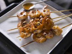 Get this all-star, easy-to-follow Buffalo Mexican Shrimp Skewers recipe from Nancy Fuller. This sauce sounds good!