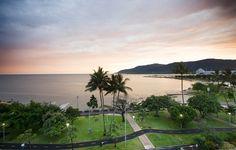 Cairns, Australia-- same view I had from my hotel room balcony!
