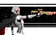 TieFighters — Captain Phasma   Created by Quito Ollero || Tumblr