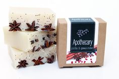 "Natural Handmade Soap ""Apothecary"" von Eve Butterfly Soaps auf DaWanda.com"