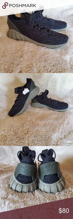 competitive price cfabb 1fba1 NWT Adidas Tubular Doom Sock In great condition. Running shoes workout  shoes with reflectors on