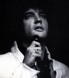 Elvis onstage at the International Hotel Las Vegas, 1969