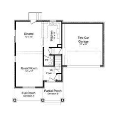 The Baybridge First Floor  | Phillippe Builders