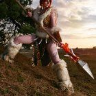 [Self] Leopard Nidalee cosplay. First ever photoshoot.